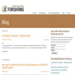 Blog fra a-forsikring.dk