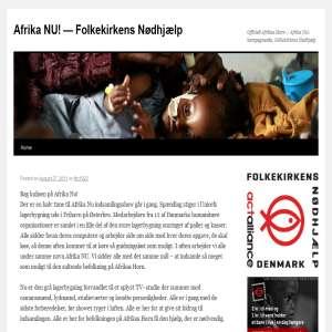 Afrika NU! - kampagnesite