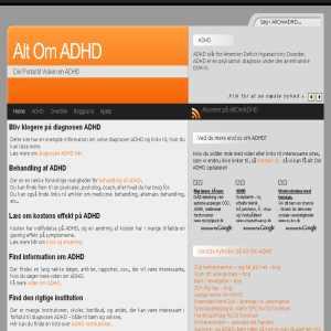 Alt Om ADHD