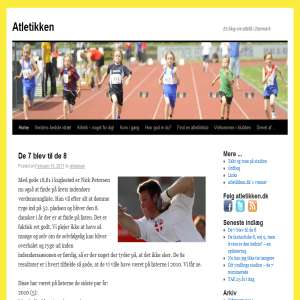 Atletikken - en blog om dansk atletik