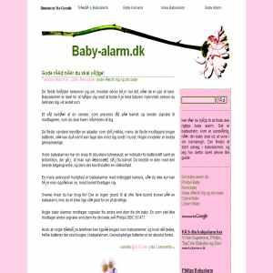 Baby Alarm.dk
