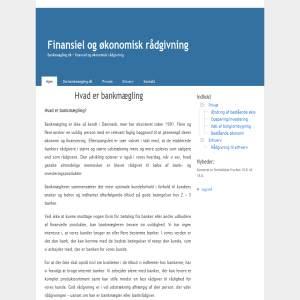 Finansiel og økonomisk rådgivning