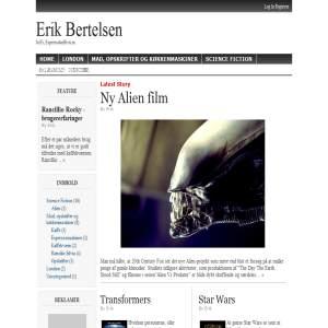 Erik Bertelsen - Science Fiction Film