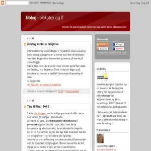 BibLog - Bibliotek og IT