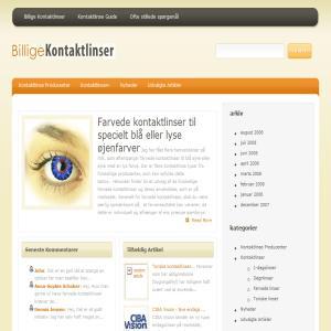 Billige Kontaktlinser
