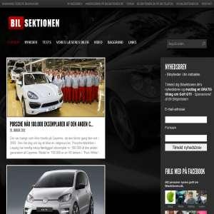 Bilsektionen.dk - Gratis online bilmagasin