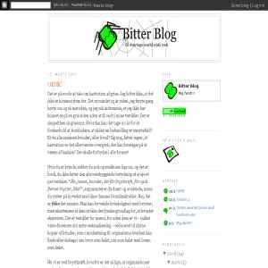 Bitter Blog