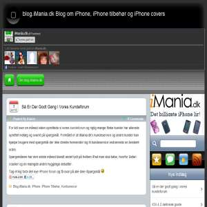 blog.iMania.dk Blog om iPhone, iPhone tilbeh�r og iPhone covers