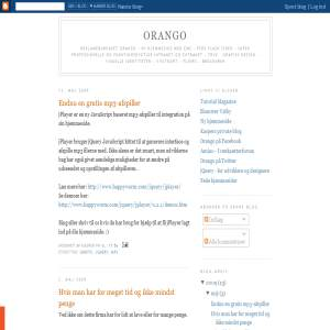 Orango Bloggen