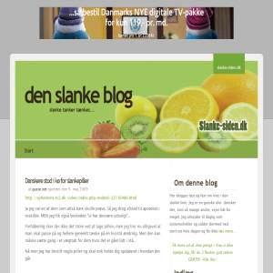 den slanke blog