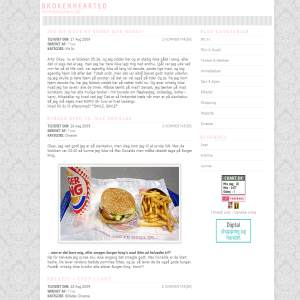 Brokenhearted Blog