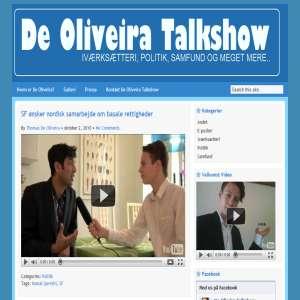 De Oliveira Talkshow