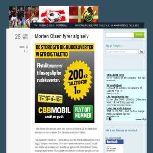 Det danske landshold i fodbold