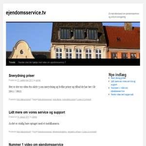 Ejendomsservice - p� NetTV