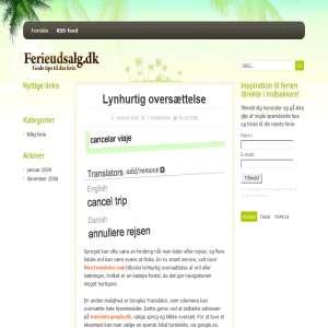Ferie Udsalg.dk