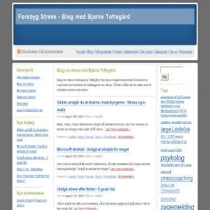 Blog om stress med Bjarne Tofteg�rd