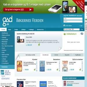 GAD.dk - Billige bøger finder du online