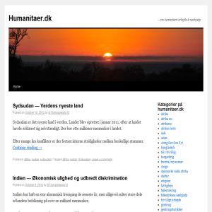 Humanitaer.dk - en blog om humanit�re emner