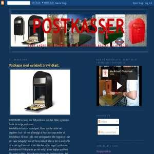 Info om Postkasser