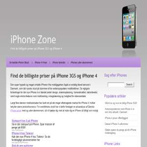 iPhoneZone - f� en iPhone billigst muligt