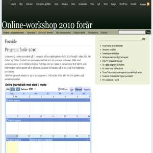 Online-workshop - Onlinemedier