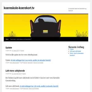 Køreskoler - på NetTV