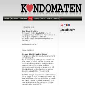 Kondomatens blog
