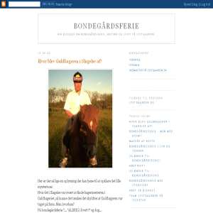 Lystgaardens blog om bondeg�rdsferie m.m.
