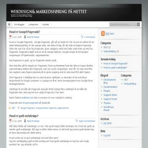me-space.dk - Webdesign & Markedsf�ring p� nettet!