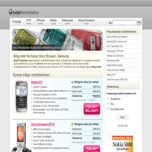 Billige mobiler - mobilterminalen.dk