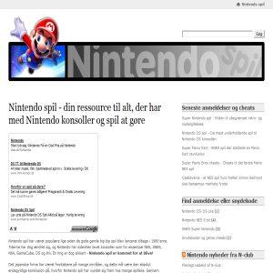 Nintendo spil DK