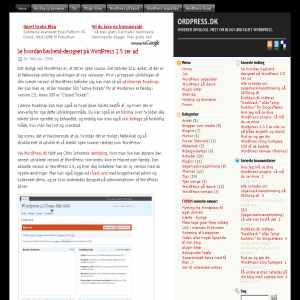 OrdPress.dk - WordPress værktøjskassen