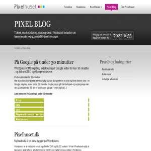 Pixel blog