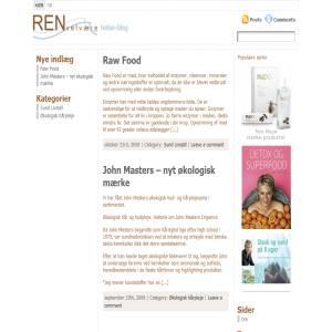 REN velvære blog