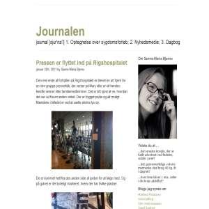 Journalen - Sanne-Maria Bjerno