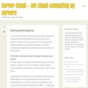 Server-cloud.dk