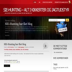SIE-Hunting - En fantastisk blog om jagtudstyr