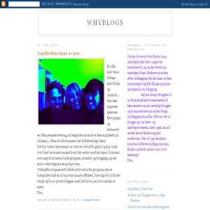Whyblogs