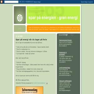 Spar på energien