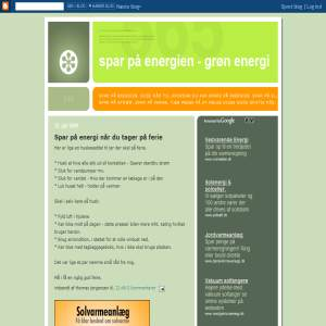 Spar p� energien