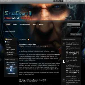 Starcraft 2 Fan Site