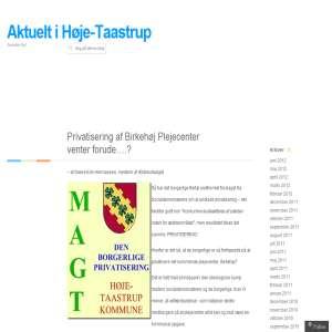 Taastrups Blog