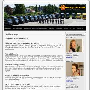 Service & test af l�ftegrej, krananl�g, taljer og kraner fra Fyns Kran Udstyr