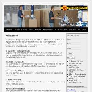 Vakuuml�ft og materialeh�ndtering fra Fyns Kran Udstyr A/S