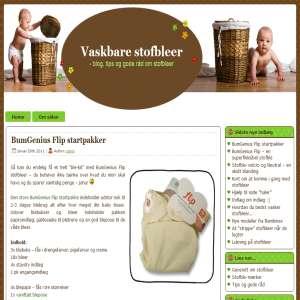 Vaskbare Stofbleer  - blog om stofbleer