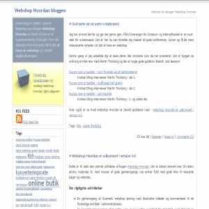 Webshop Hvordan
