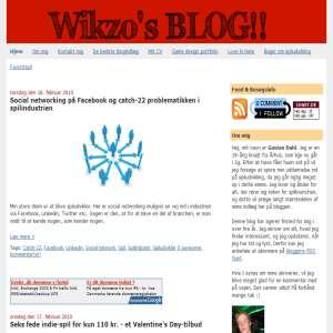Wikzo - Gaming, spiludvikling, teknologi, finurligheder og spas fra internettet