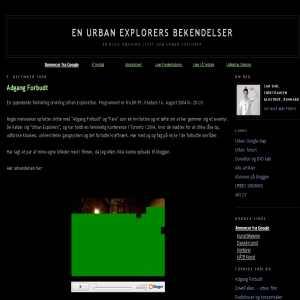 En Urban Explorers bekendelser