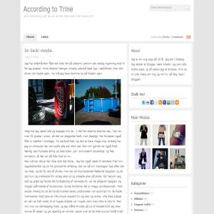 Trines blog