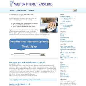 Agilitor - Internet Marketing
